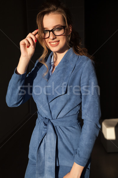 Portrait of business woman in business attire in the Office Stock photo © dmitriisimakov