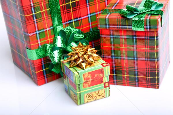 Gift boxes Stock photo © dmitroza