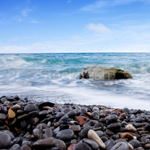 sea and blue sky  Stock photo © dmitroza