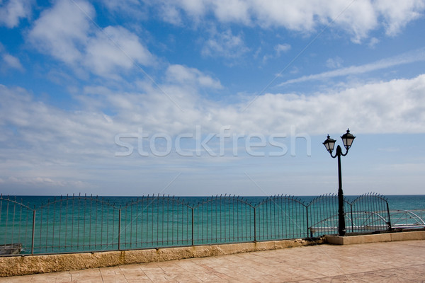 seafront and blue sky Stock photo © dmitroza