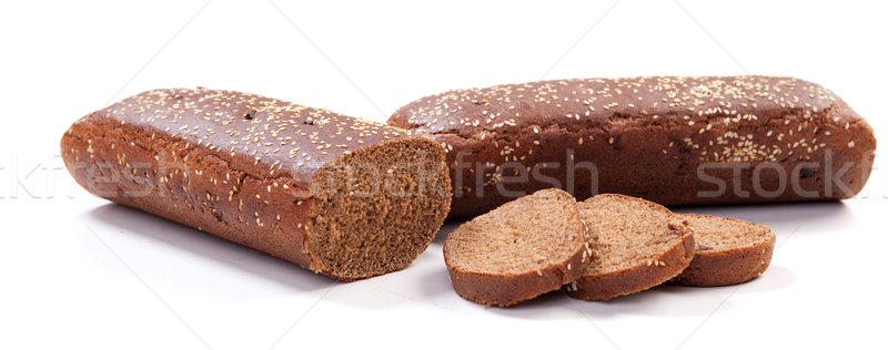 Brown long loaf Stock photo © dmitroza