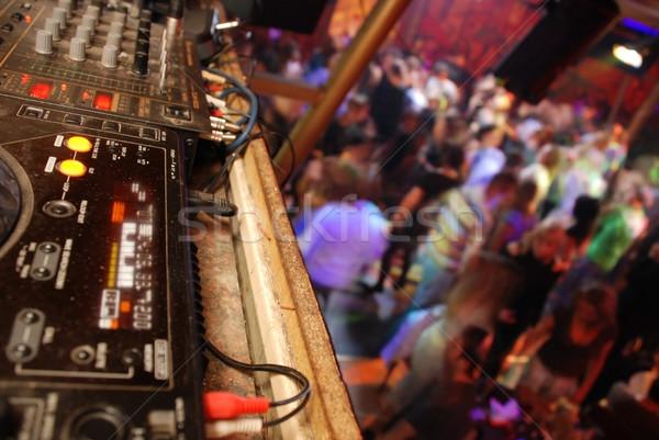 Dansen club moderne super muziek partij Stockfoto © dmitroza
