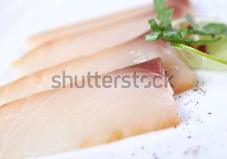 Vers witte vis ingericht Stockfoto © dmitroza
