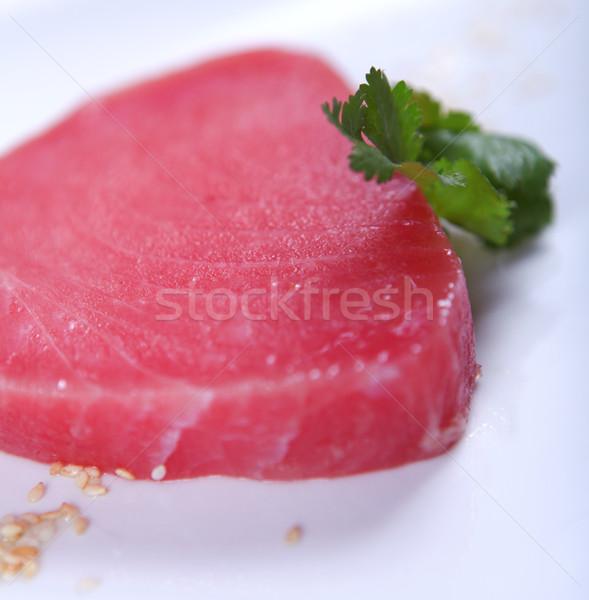Frescos atún buena carne blanco alimentos Foto stock © dmitroza