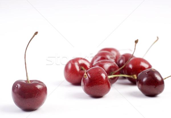 Sweet cherries Stock photo © dmitroza