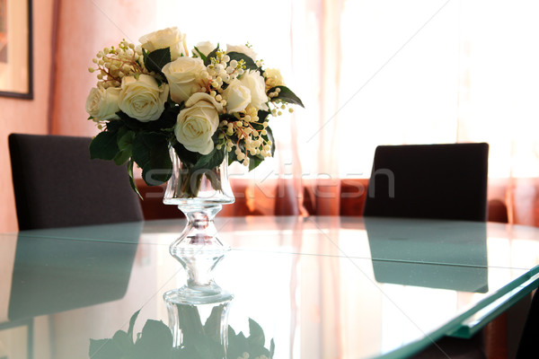 flowers on the table Stock photo © dmitroza