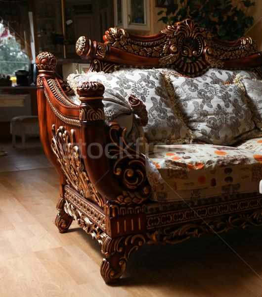 Carved sofa Stock photo © dmitroza