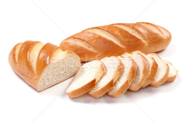 White long loaf Stock photo © dmitroza