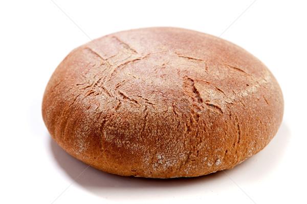 Brown rye bread Stock photo © dmitroza