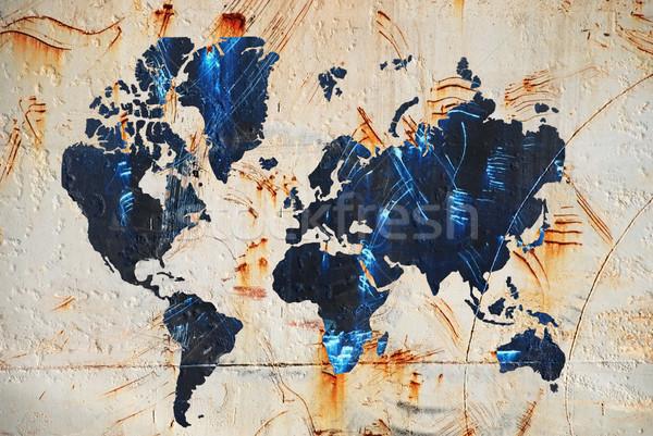 map of the world Stock photo © dmitroza