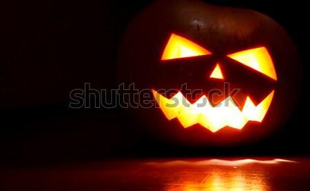 Halloween pumpkin Stock photo © dmitroza