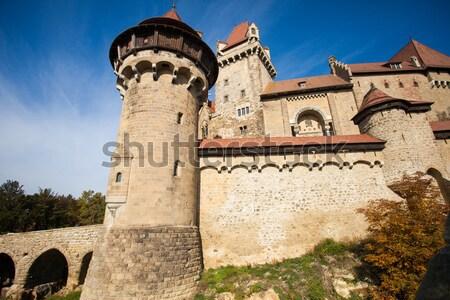古代 レンガ 城 牙城 電源 壁 ストックフォト © dmitroza