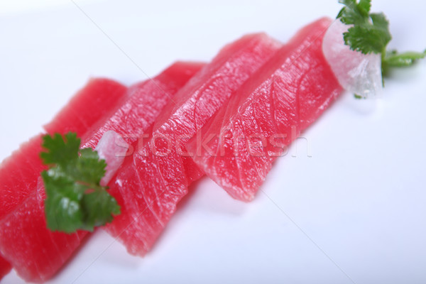 Fresh tuna Stock photo © dmitroza