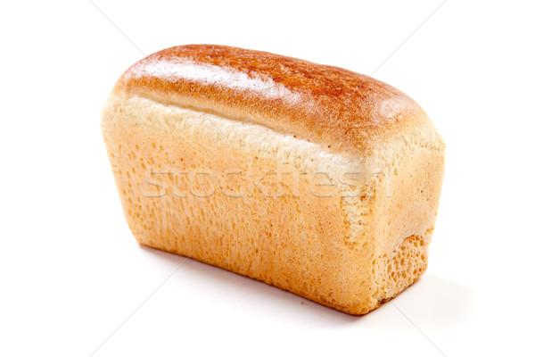 Fehér kenyér egészséges finom friss teljeskiőrlésű búza egy Stock fotó © dmitroza