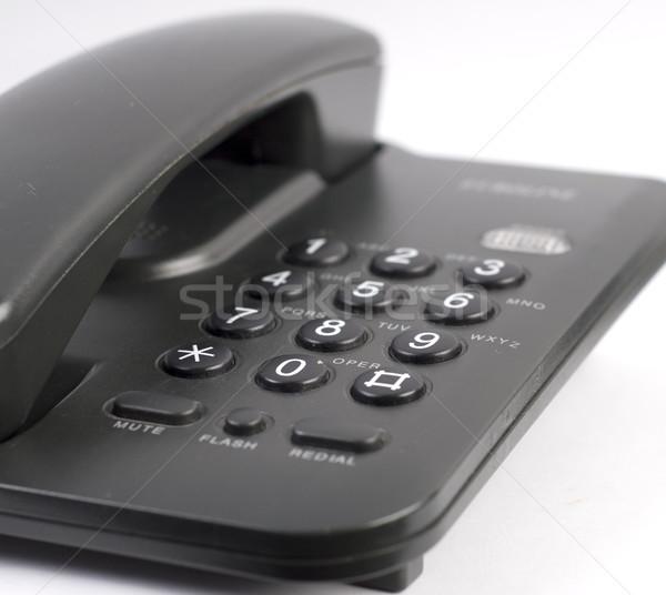 Black phone Stock photo © dmitroza