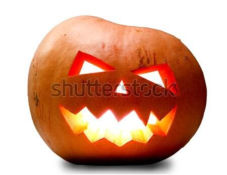 Halloween pumkin Stock photo © dmitroza