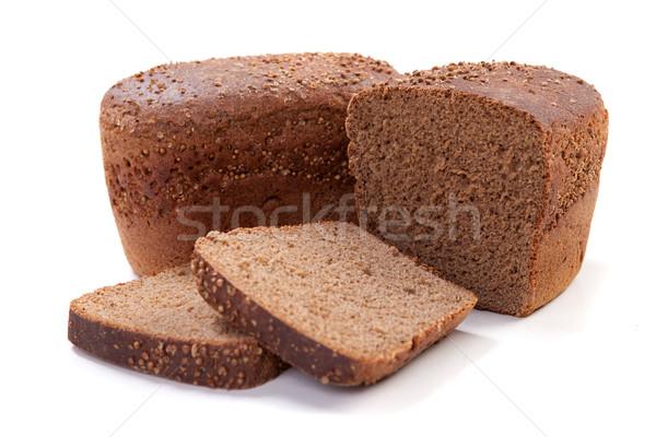 Brood komijn vers bruin lang brood Stockfoto © dmitroza
