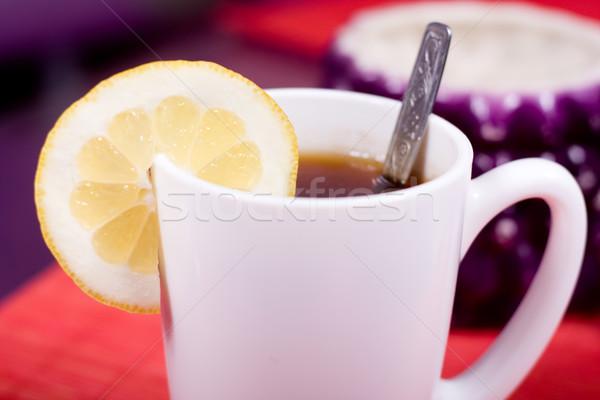 cup and sugar bowl Stock photo © dmitroza