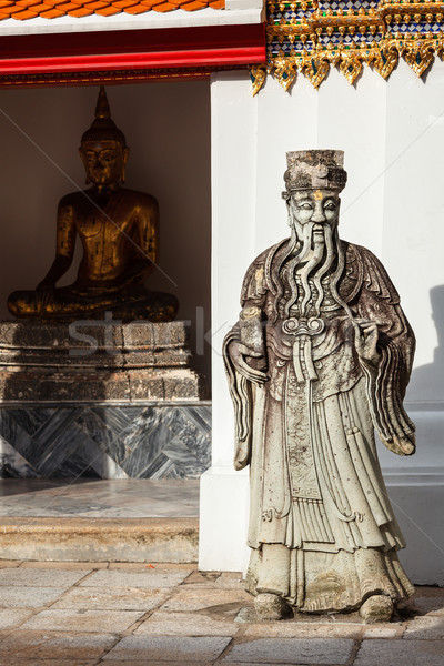 Steen voogd Thailand chinese Bangkok god Stockfoto © dmitry_rukhlenko