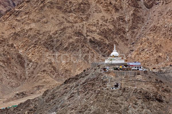 Indian Indië boeddhisme noord-india Stockfoto © dmitry_rukhlenko
