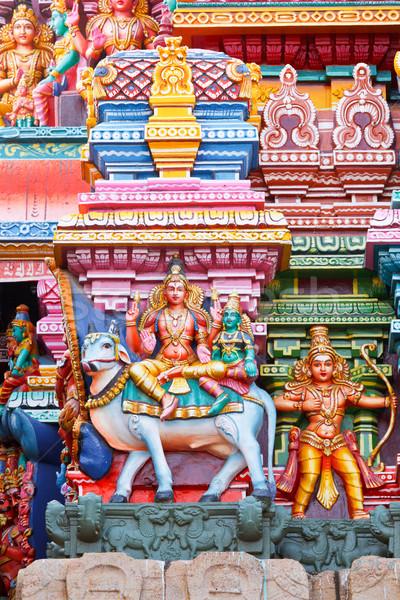 Temple tour shiva Bull image pierre Photo stock © dmitry_rukhlenko