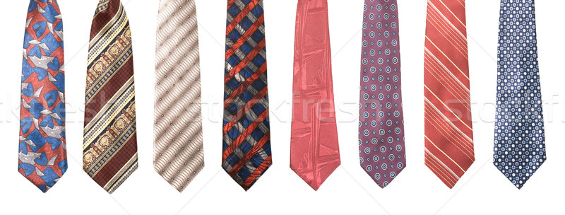 Set of man's ties isolated Stock photo © dmitry_rukhlenko