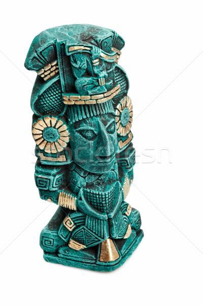 Déité statue Mexique isolé blanche Photo stock © dmitry_rukhlenko