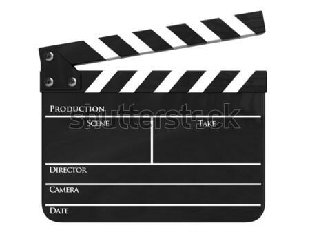 Isolado negócio filme indústria filme vídeo Foto stock © dmitry_rukhlenko