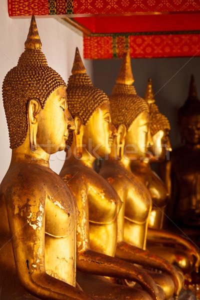 Sesión Buda Tailandia templo Bangkok Foto stock © dmitry_rukhlenko
