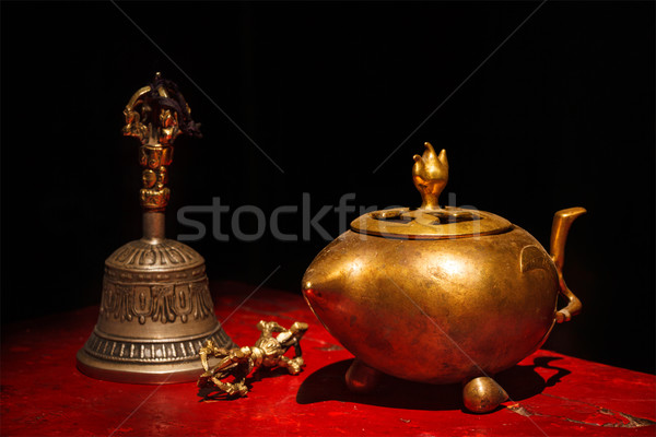 Tibetan Buddhist still life Stock photo © dmitry_rukhlenko