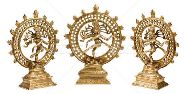 Statues of Shiva Nataraja - Lord of Dance isolated Stock photo © dmitry_rukhlenko