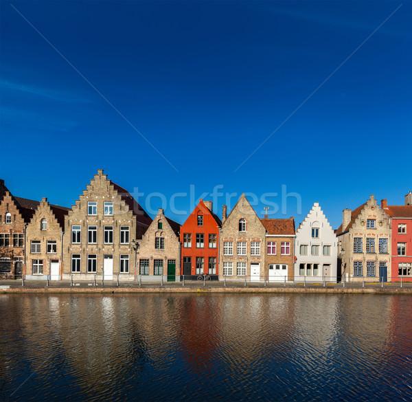 Сток-фото: европейский · города · Бельгия · типичный · Европа · Cityscape