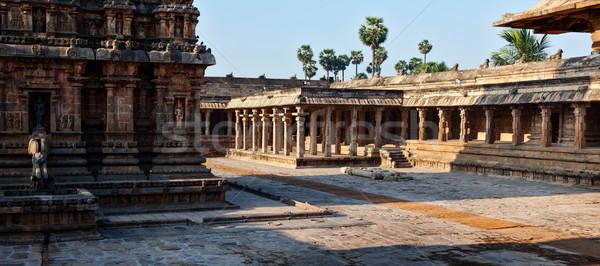Airavatesvara Temple, Darasuram Stock photo © dmitry_rukhlenko