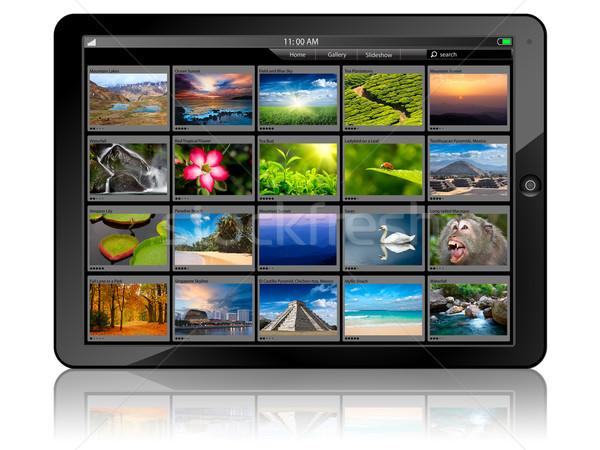 Tablet PC Stock photo © dmitry_rukhlenko