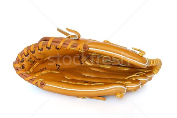 Baseball catcher mitt isolated on white background Stock photo © dmitry_rukhlenko