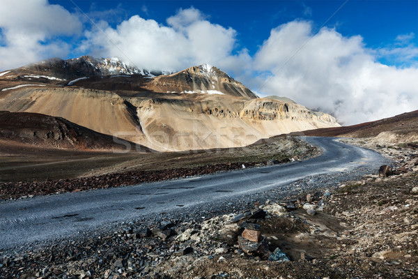 Weg indian himalayas landschap reizen Stockfoto © dmitry_rukhlenko
