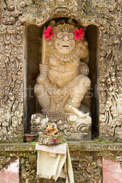 Statue of a god in Hindu temple Stock photo © dmitry_rukhlenko