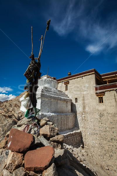 Paleis Indië berg bergen indian godsdienst Stockfoto © dmitry_rukhlenko