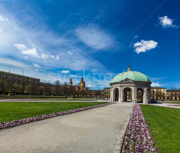 Pavilion in Hofgarten. Munich, Germany Stock photo © dmitry_rukhlenko