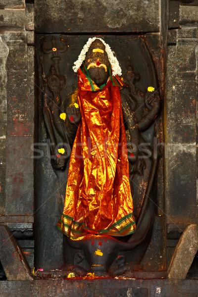Shiva image in Hindu temple Stock photo © dmitry_rukhlenko