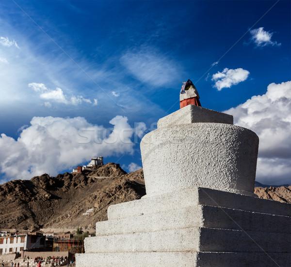 Indië fort berg bergen indian ruines Stockfoto © dmitry_rukhlenko
