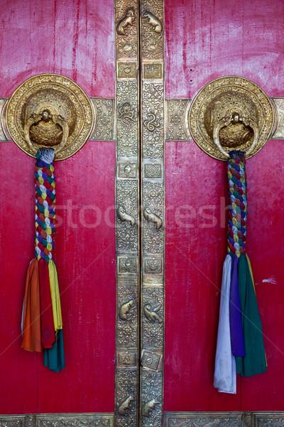 ドア 谷 礼拝 アーキテクチャ 宗教 ゲート ストックフォト © dmitry_rukhlenko