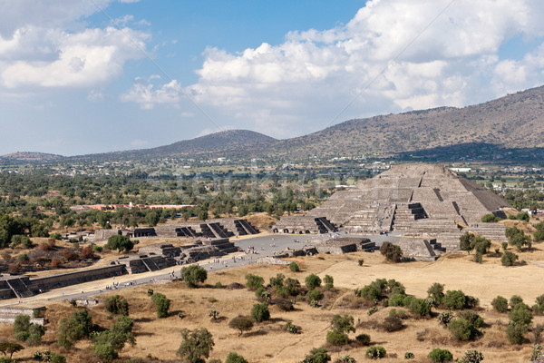 Pyramid of the Moon. Teotihuacan, Mexico Stock photo © dmitry_rukhlenko