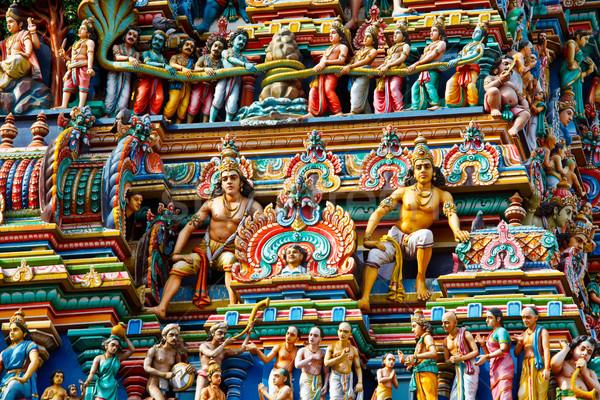 Photo stock: Tour · temple · dieu · asian · Asie · religion