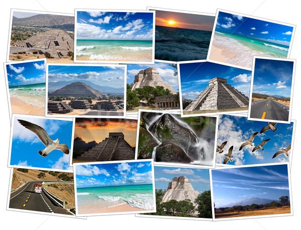 Mexico images collage Stock photo © dmitry_rukhlenko