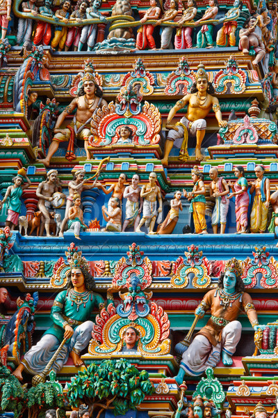Photo stock: Tour · temple · dieu · asian · Asie · religion