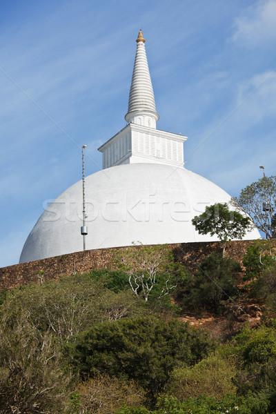 Zdjęcia stock: Sri · Lanka · biały · niebo · wygaśnięcia · cegły