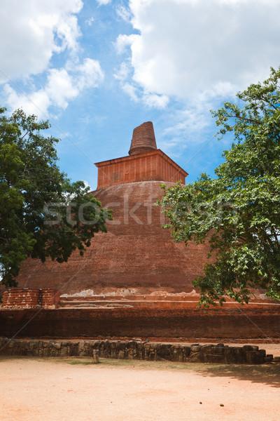 Sri Lanka costruzione pietra culto mattone tempio Foto d'archivio © dmitry_rukhlenko