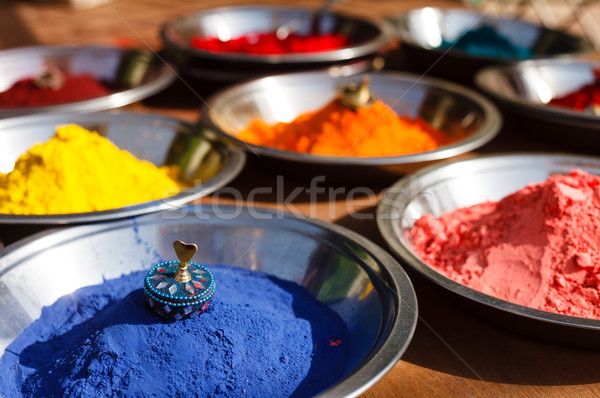 Kumkum powder, India Stock photo © dmitry_rukhlenko