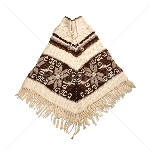 Mexican knitted poncho Stock photo © dmitry_rukhlenko